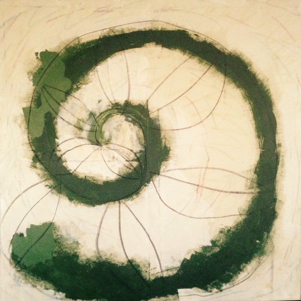 ESPIRAL mixed media on canvas. 120X120 cm. 2015